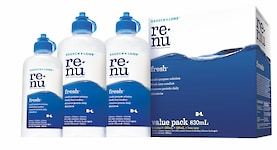 RENU  FRESH VALUE PACK Solutions and Accessories