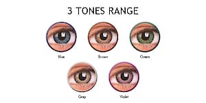 COLOURVUE 3 TONES 2PK